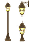 streetlight vector illustration