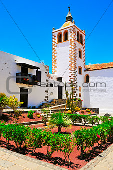 Santa Maria de Betancuria Church in Fuerteventura, Canary Island