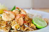 Stir fry noodles , asian food