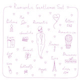 romantic gentleman set