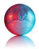 ball for disco club