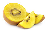 Yellow gold kiwi