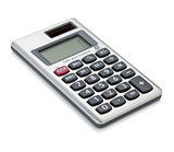 Small digital calculator