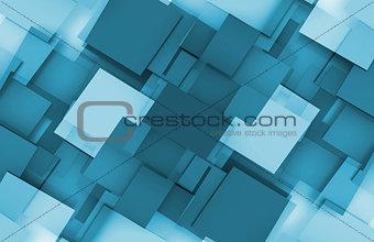 3D Squares Background