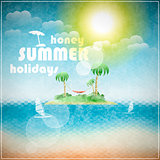 Honey summer holidays