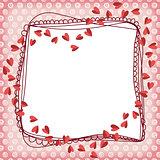Heart Scrapbook Frame
