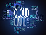 Cloud computing terms together