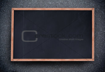 Blackboard with copy space