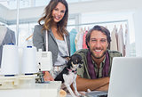 Fashion designers and chihuahua
