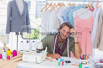 Thoughtful fashion designer
