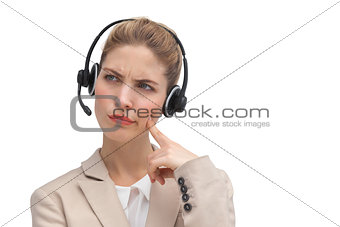 Call center agent wondering something