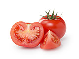 ripe red tomatoes