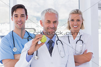 Group of doctor and nurses standing