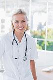 Attractive nurse