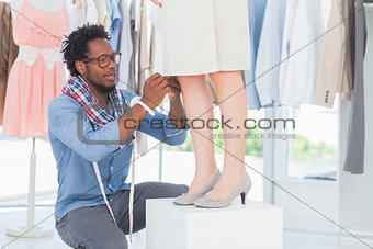 Attractive designer fixing needles