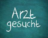 German word arzt gesucht