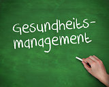 Hand writing gesundheits management