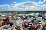 Schwerin city view