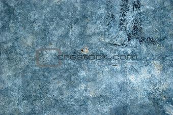 Galvanized steel surface