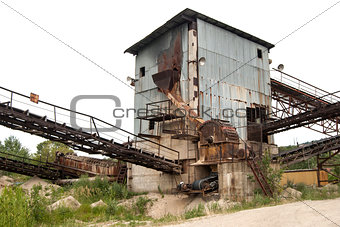 Old industrial facility