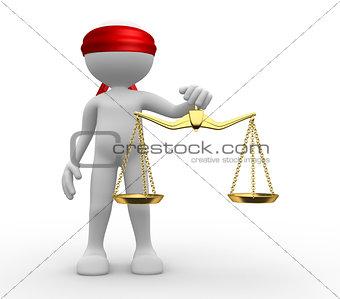 Symbol of justice.