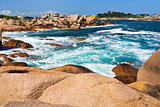 Pink Granite Coast in Brittany