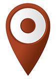 round map pointer