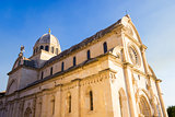 St. James's cathedral in the city of Sibenik in Dalmatia, Croati