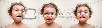 Indian baby crying