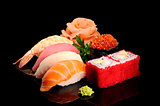 Fish and seafood.
