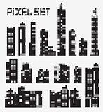 pixel buildings