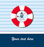 Young sailor card