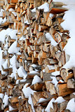 Fire wood for a fireplace