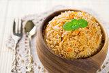 Biryani rice, basmati