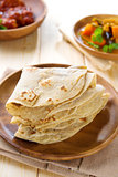 Indian Chapati or chapatti