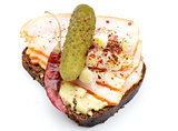 Sandwich with Marinaded cucumber