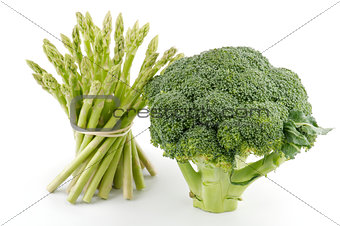 Asparagus Sprouts and Broccoli Floret