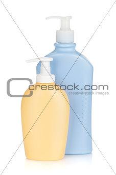Cosmetics bottles