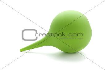 Green rubber pear (enema)