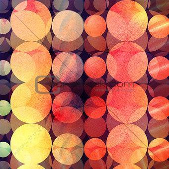 abstract background of circles