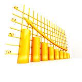 yellow columns of diagram with arrow rising upwards