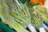 Garlic Spears and Asparagus Bundles