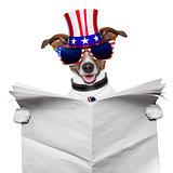 american dog reading