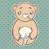 funny sick bear