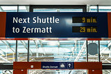 Station shuttle Zermatt