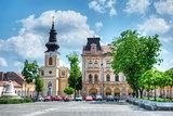 Piata Traian Square, Timisoara, Romania