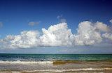 Spectacular beach scene, Puerto Rico