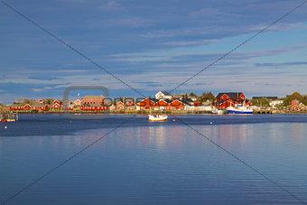 Fishing port in Reine