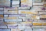 A modern brick wall