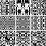 Seamless patterns set.